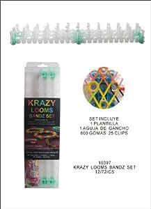 Krazy Looms Bandz - Kit de creación de pulseras con gomas
