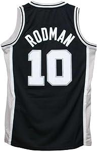 San Antonio Spurs Dennis Rodman Black NBA Jersey by adidas