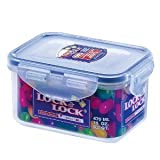 Lock & Lock Stackable Airtight Container Rectangular 470ml HPL807