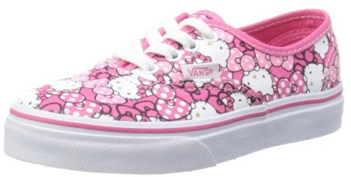 Vans Unisex-Child Authentic Morning Glory/Hot Pink Trainers VRQZ8M1 1.5 UK Child, 32.5 EU