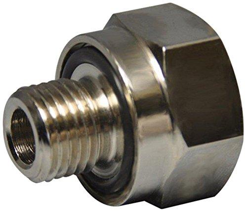 Ez (A-107) Silver 12Mm-1.75 Thread Size Oil Drain Valve Adapter