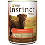 Nature's Variety Instinct Grain-Free Salmon Formula Canned Dog Food, 13.2 oz. (Case of 12)