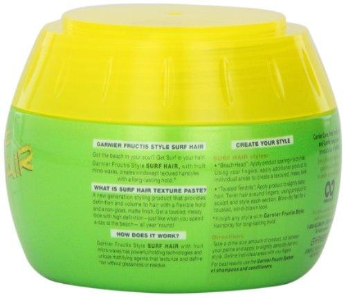 Garnier Fructis Style Surf Hair Texture Paste, 5.1 Ounce