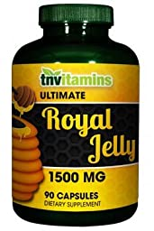 Ultimate Royal Jelly 1500 Mg - 90 Capsules