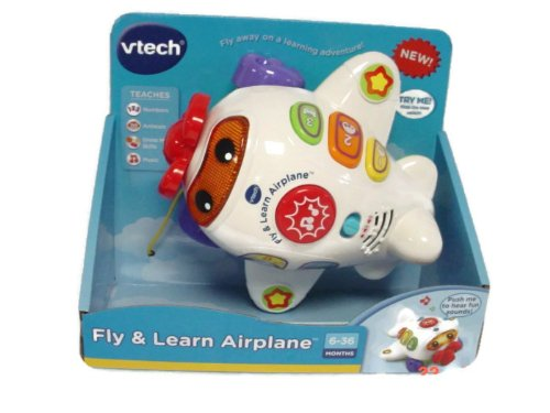 Vtech Fly And Learn Airplane front-894879