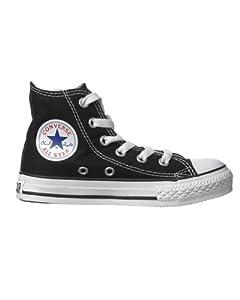 Converse - Chaussures de sport All Star - all star canvas hi - Taille EUR 33 - Couleur Noir