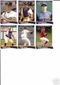 2004 NY Penn League Top Prospects Mets Team Set 2 Cards BROOKLYN CYCLONES Mint by Choice