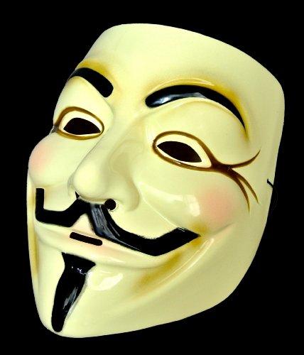 ガイ・フォークス 仮面(アノニマスのマスク)【肉厚タイプ】【国内検品済み】 0.5mm厚PVC製 MM-GFMASK01
