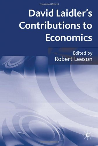 David Laidler's Contributions to economics