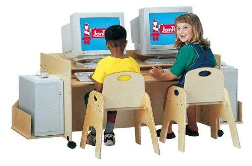 Buy Low Price Comfortable KYDZ COMPUTER DESK – DOUBLE – NAVY (B001EJGPKA)