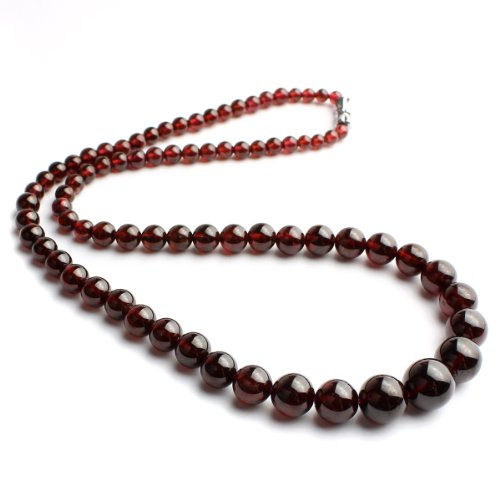 O-stone Natural Garnet Necklace Bracelet 2 Grounding