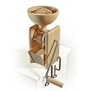 KoMo Handgetreidemühle mit Tischbefestigung Mahlleistung ca. 50 g/min Weizen fein  Kritiken und weitere Informationen