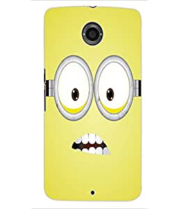 ColourCraft Cartoon Design Back Case Cover for MOTOROLA GOOGLE NEXUS 6