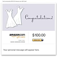 Amazon Gift Card - E-mail - Wedding (Two Dresses)