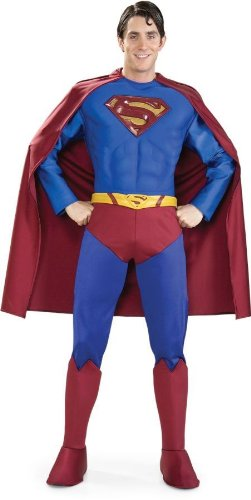 Men's Costume: Superman Supreme- Extra Large