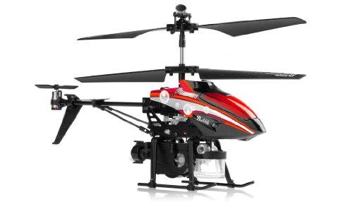 Imagen de Juguetes WL V757 Bubble Master Co-Axial Helicóptero 3.5 canales (rojo)