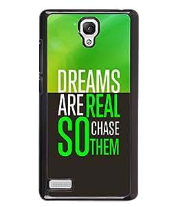 PrintVisa Metal Printed Quotes Designer Back Case Cover for Xiaomi Redmi Note 4G -D4982