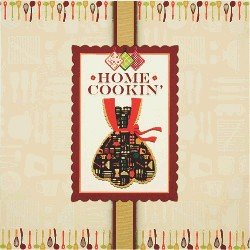 Home Cookin Scrapbook Recipe Keeper Binder Lori