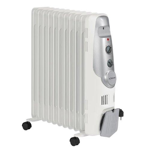 radiatoren de luxus l radiator heizk rper 11 rippen heizung bomann ra 1122. Black Bedroom Furniture Sets. Home Design Ideas