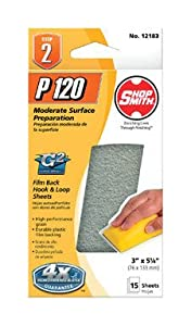 Shopsmith G2 Hook And Loop Sandpaper Block Refill