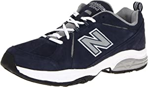 New Balance Men's MX608 Cross-Training Shoe,Navy/White,11.5 D US