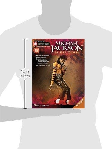 Jazz Play-Along Volume 180: Michael Jackson (Book/CD)