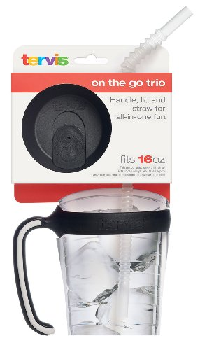 Tervis 16 oz. Handle Lid Straw Combo Pack (Tervis Tumbler Lids Pack compare prices)