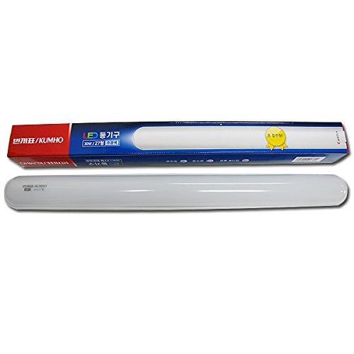kumho-led-light-bungae-thunderbolt-30w-room-interior-modern-deco-ceiling-lamp-220v-6500k-cool-white