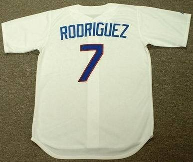 IVAN RODRIGUEZ Texas Rangers 1993 Majestic Cooperstown Throwback Home Baseball Jersey, LARGE at Amazon.com
