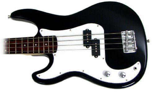 Benson PSN BLACK LEFT HANDED electric bass guitar and amplifier package