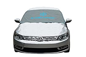 iceScreen ~ Magnetic Windshield Ice & Snow Cover - Medium Grey