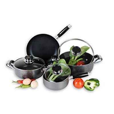 Home Basics 7-Piece Cookware Set