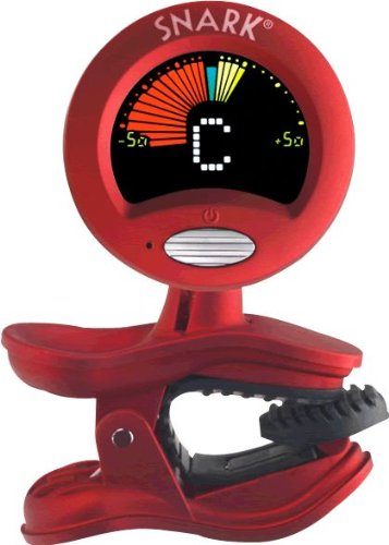 Snark Clip-On Chromatic All Instrument Tuner, Red