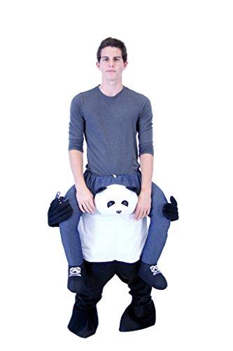 Piggyback Ride On PANDA Costume (Plus) (Panda Costume Adult)