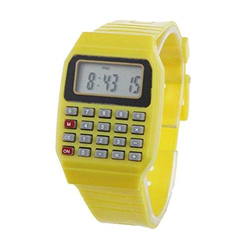 ouneed-fashion-boy-girl-multi-purpose-datetime-electronic-wrist-watch-yellow