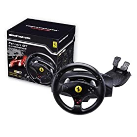 Ferrari GT Experience Racing Wheel for PS3 and PS2