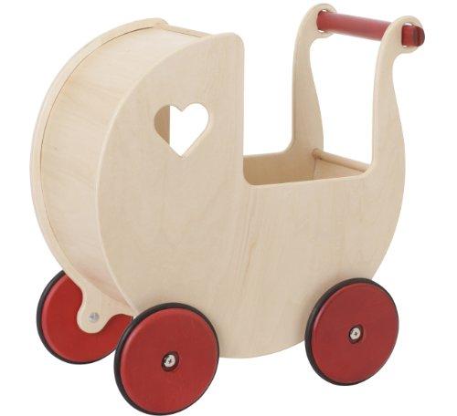 Pinolino Puppenwagen Holz Sarah Buche Natur ~ moover toys puppenwagen natur moover toys puppenwagen natur im katalog