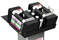 PowerBlock Personal Trainer Adjustable 2.5 to 50-Pounds per Dumbbell Set