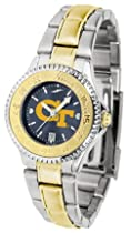Georgia Tech Yellow Jackets Competitor AnoChrome Ladies Watch with Two-Tone Band