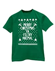 Christmas Filthy Animal X Large T Shirt