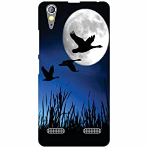 Lenovo A6000 Plus Back Cover - Night Bird Designer Cases