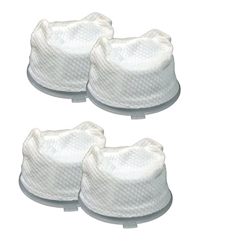 4 Dirt Devil F5 Replacement Filters Fit Dirt Devil Scorpion Hand Vacs Models 08200, 8201, 08210, 08215x & More, Replaces Dirt Devil Part # 3-dea950-001 (3dea950001) (Scorpion Hand Vac compare prices)