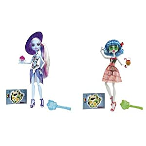 Monster High Skull Shores - Ghoulia Yelps and Abbey Bominable