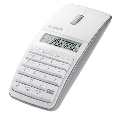Canon 5565B002 X Mark I Mouse Slim Computer Link Calculator (White)