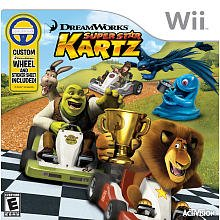 Dreamworks Super Star Kartz with Wheel