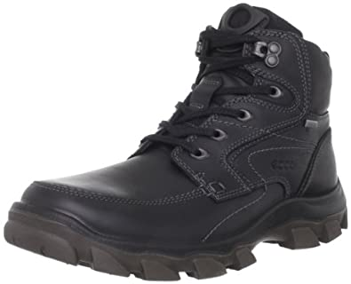 ECCO Men's Track V High Hiking Boot,Black,44 EU/10-10.5 M US