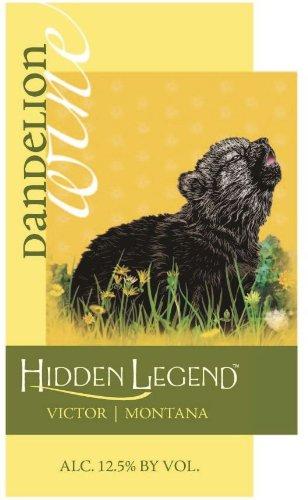 Nv Hidden Legend Dandelion Wine 750 Ml