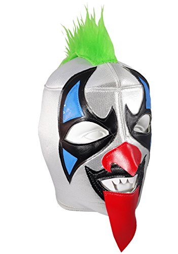 PSYCHO CIRCUS Adult Lucha Libre Wrestling Mask (pro-fit) Costume Wear - Green