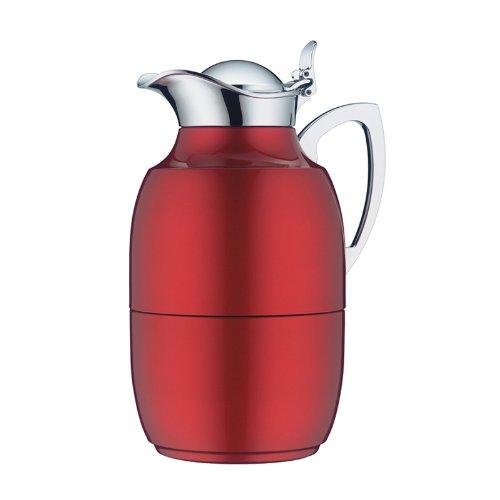 Alfi Juwel Lacquered Thermal Carafe, Velvet Burgundy, 8-Cup