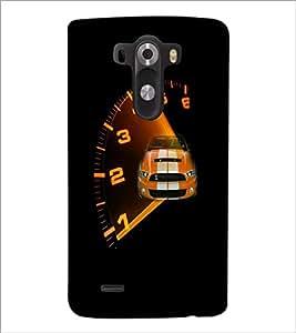 PrintDhaba Car D-4746 Back Case Cover for LG G3 (Multi-Coloured)